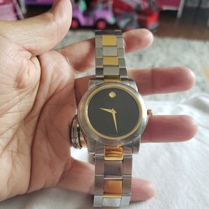 Movado mens watch, swiss made (needs battery)